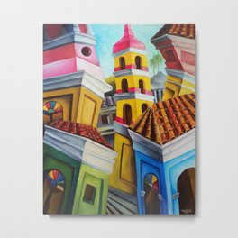 Remedios, Cuban town Metal Print
