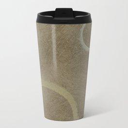 Two Circles - Modern Art - Abstract - Fine Art - California Cool - Popular Painterly Travel Mug