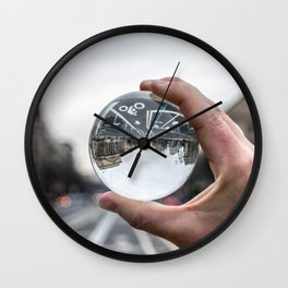That Upside Down Feeling Wall Clock