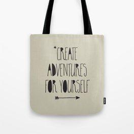 Adventures Tote Bag