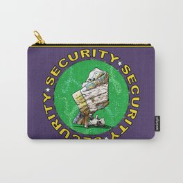 Blanket & Bear Security Carry-All Pouch
