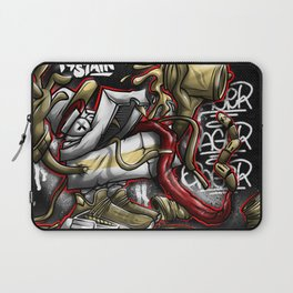 Shoe Poppin Royal Stain Laptop Sleeve