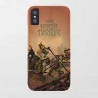 teenage mutant ninja turtles iPhone & iPod Cases featuring Teenage Mutant Ninja Turtles by s2lart