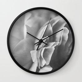 peonies [ruffle] 07 Wall Clock