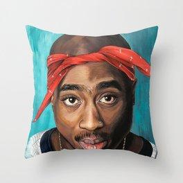 Amaru Shakur Throw Pillow