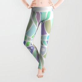pastel mandala Leggings