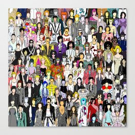 Tokyo Punks Summer Holiday Canvas Print