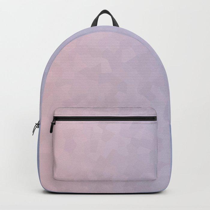 Rose Quartz and Serenity Mosaic Crystals Backpack