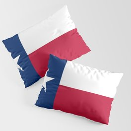 Texas: State Flag of Texas Pillow Sham