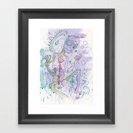 Neural Annon Framed Art Print