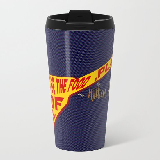 If Music Be the Food Of Love, Play On! Metal Travel Mug
