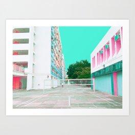 昼間学校 /// Day School Art Print