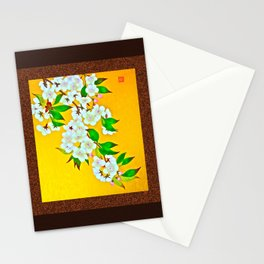 Sweet Cherry Blossoms  Stationery Cards