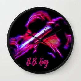 BB KING Wall Clock
