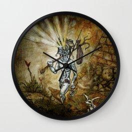 The Fool Rebound Wall Clock