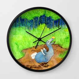 The Dodo Sinks Wall Clock