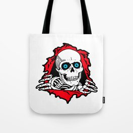 SKULL GIVE A SURPRISE Tote Bag