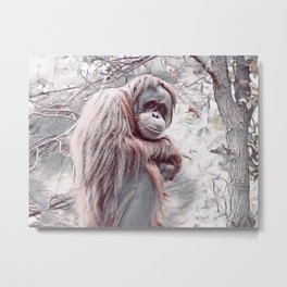 Will Never Know Freedom Metal Print