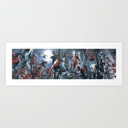 SPIDER-MAN   all togheter Art Print