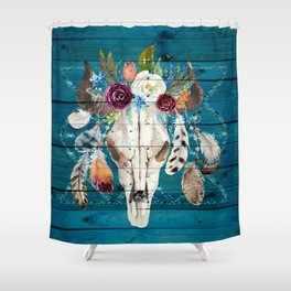 Southwestern Art Boho Chic Shower Curtain