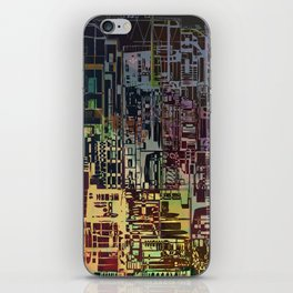 Where Are YOU -4 / Urban Density iPhone Skin