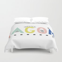 Lagom colors Duvet Cover