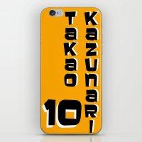 kuroko iPhone & iPod Skins featuring kazunari Takao by Selis Starlight