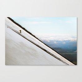 Climbing mount Doom Canvas Print