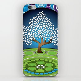 Circle Tree Of Life iPhone Skin