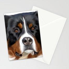 BERNESE MOUNTAIN DOG ART Stationery Cards