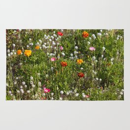 Field of Wild Flowers Rug
