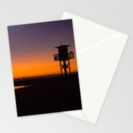 Tarifa sunset Stationery Cards
