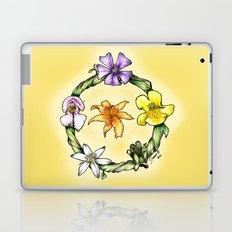 Garland of flowers Laptop & iPad Skin