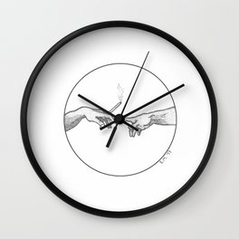 AFTER THE CREATION OF ADAM Wall Clock