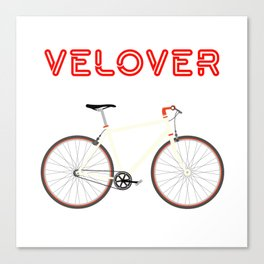 VeLover – Racer – June 12th – 200th Birthday of the Bicycle Canvas Print