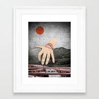 eternal sunshine Framed Art Prints featuring Eternal Sunshine by Evan Beltran