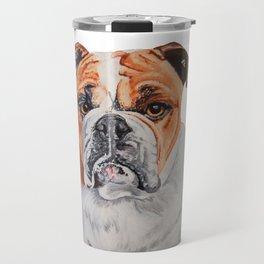 Arnold the Bulldog Travel Mug