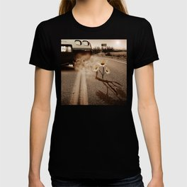 Exhausting Pipe Flowers T-shirt