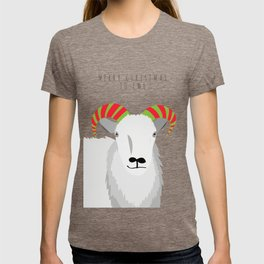 Merry Christmas to Ewe 2 T-shirt