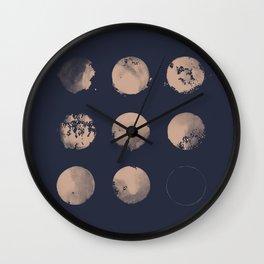 Douze Lunes Wall Clock