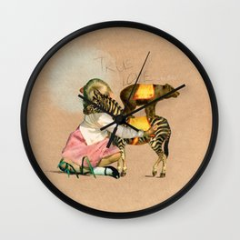 True love never dies! Wall Clock