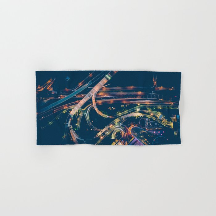 City in the sky fantastic Hand & Bath Towel