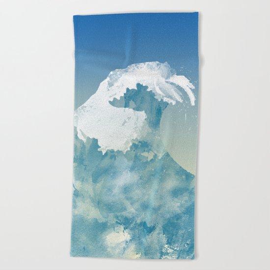 Mavericks Beach Towel