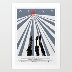 Alien (1979) Movie Poster Art Print