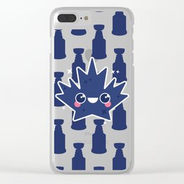 How dare you leaf me Clear iPhone Case