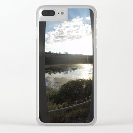 Swamps and Ponds Clear iPhone Case