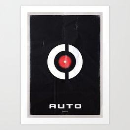 AI - Auto Art Print