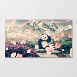 Baby Panda by GEN Z Canvas Print