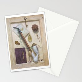 Still life with a pipe Stationery Cards