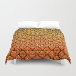 Pineapple Mania Texture Duvet Cover